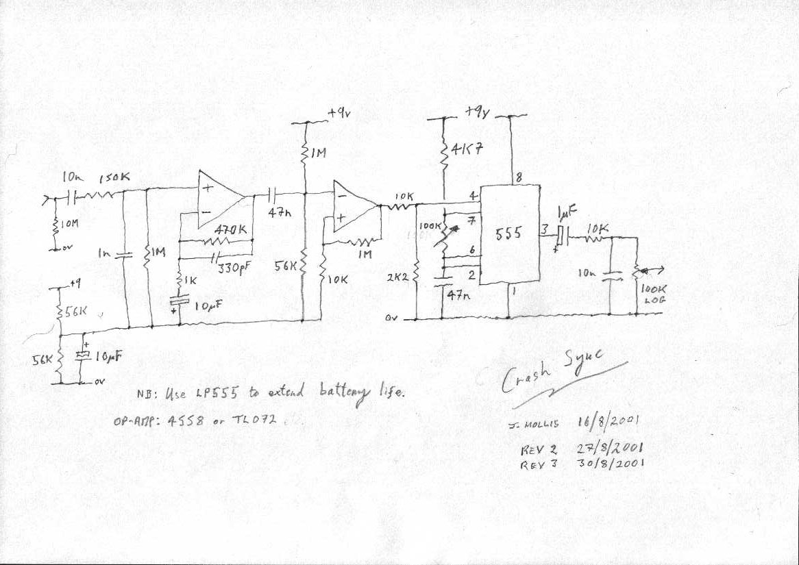 John Hollis Assorted Circuit Designs Moreover On Off Switch 555 M Circuits Schematics Here Is The Schematic