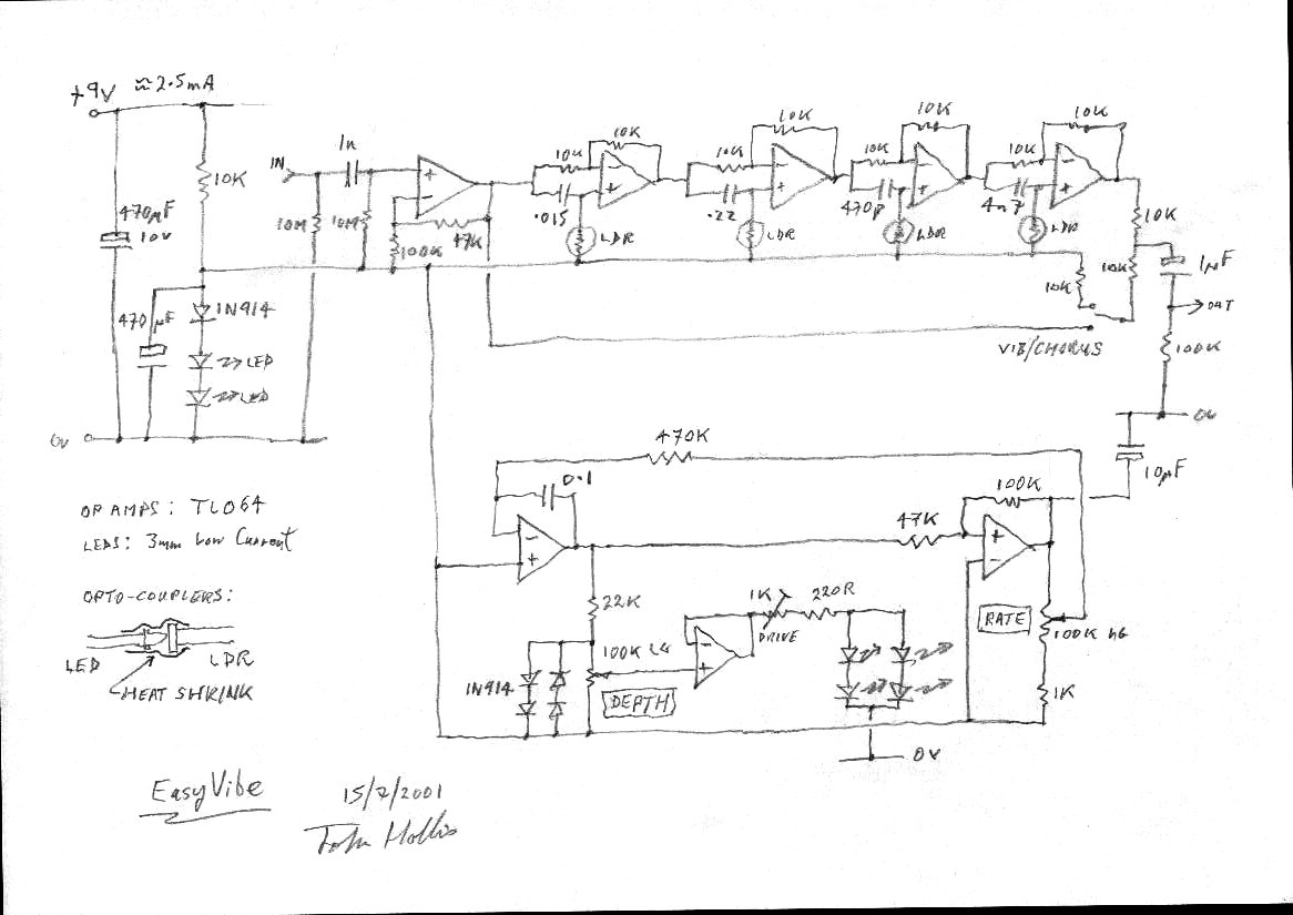 John Hollis Assorted Circuit Designs How To Build A From Schematic Here