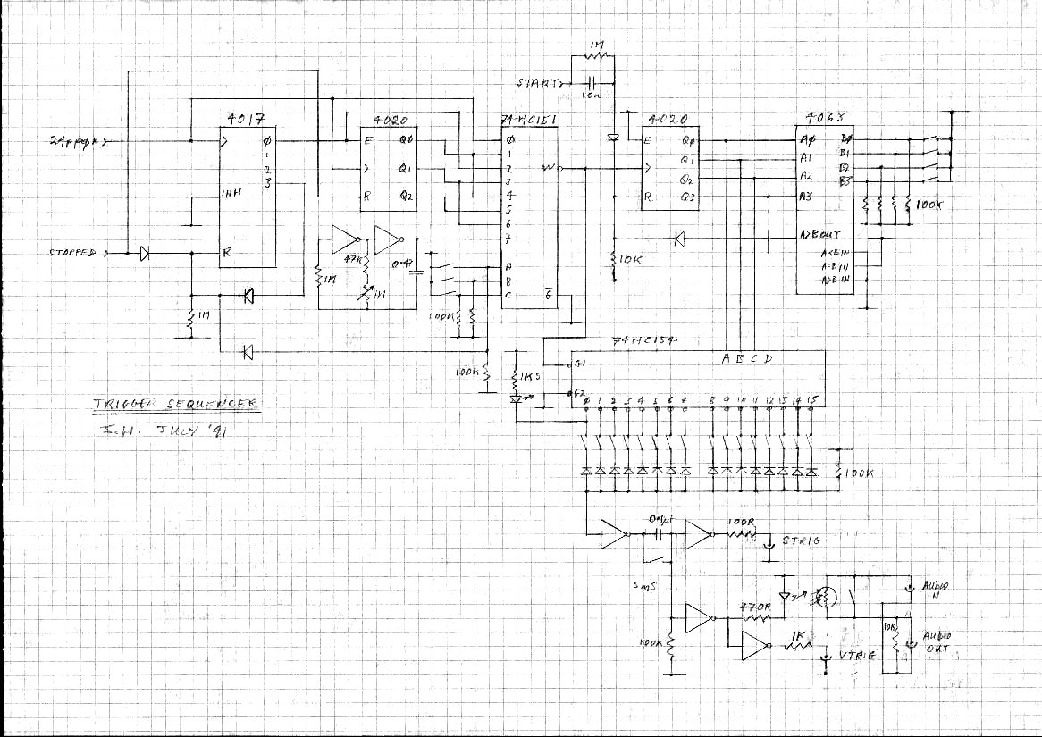 John Hollis Assorted Circuit Designs Wah But With No Up And Down Variation Like The Pedal Allows Midi Program Changer